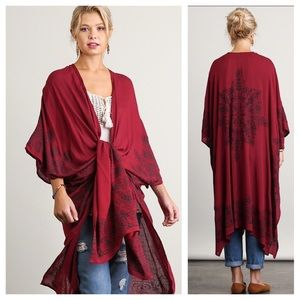 🆕Open Front Longline Cardigan #Coverup